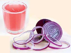 Onion juice